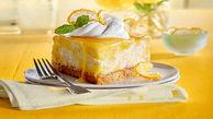 دستور پخت چیز کیک لیمویی خانگی/دسری برای دورهمی های خانوادگی