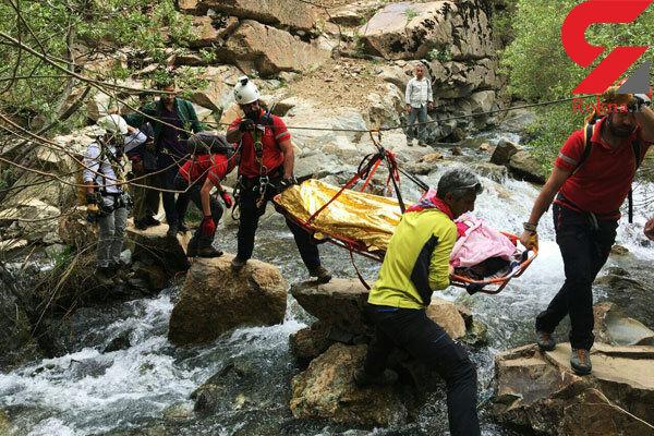 جسد زن 30 ساله حادثه دیده در رودخانه میگون کشف شد +عکس