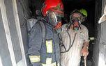 نجات 2 مشهدی از میان دود و آتش + عکس