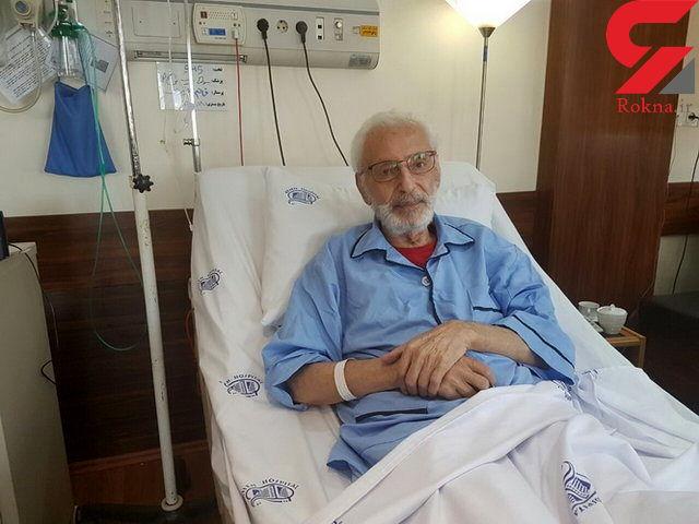«جمشید مشایخی» تا کی در بیمارستان بستری خواهد بود؟