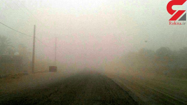 گرد و غبار تنفس را برای شهروندان ریگانی سخت کرد