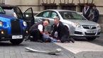 فیلم لحظه ورود خودرو به میان جمعیت در لندن +تصاویر