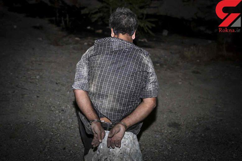 قمه کش پارک کودکان زنجان دستگیر شد / همه از او می ترسیدند + عکس