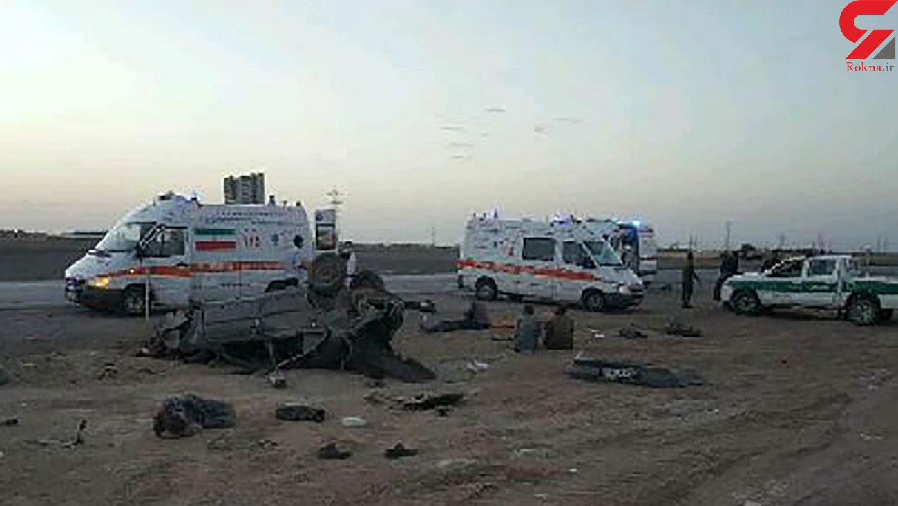 حادثه خونین برای 3 زن و 3 مرد در خودروی قاچاقچیان انسان / در اصفهان رخ داد