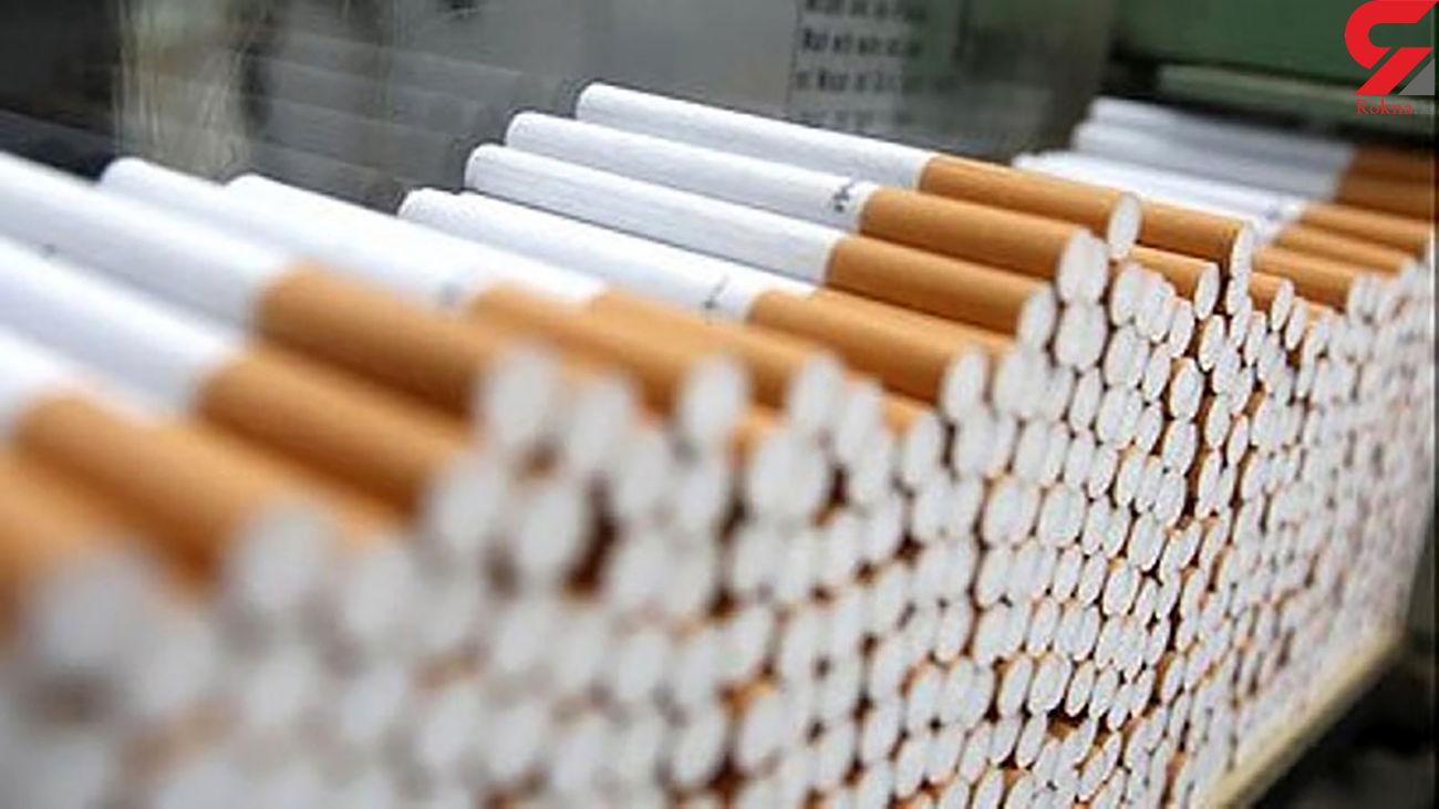 کشف 12 هزار نخ سیگار قاچاق در اسلام آبادغرب
