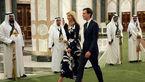 نگاههای شیطانی شاهزاده سعودی به دختر ترامپ سوژه شد!+ فیلم