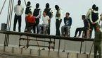 اعدام 4 جوان به خاطر  آزار و اذیت دختر نوجوان در  قشم / فیلم اعدام در ساحل و جزئیات