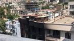 اینجا پشت بام عجیب کلینیک سینا است! / درانفجار تجریش امکان فرار نبود !+ عکس و فیلم