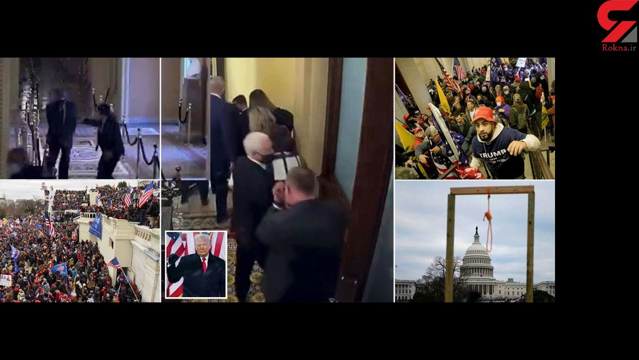 Chilling new Capitol riot footage of Mike Pence fleeing Trump mob who wanted to hang him
