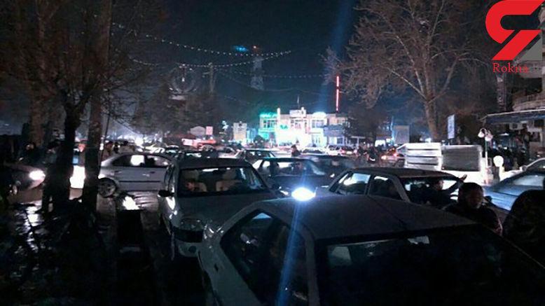 فیلم لحظه زمینلرزه در سلماس