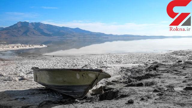 گلوی خشک دریاچه ارومیه