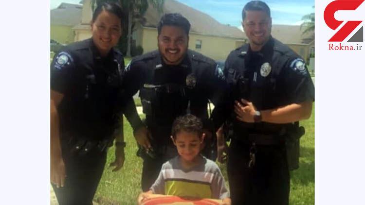 درخواست عجیب پسر بچه گرسنه در تماس با پلیس آمریکا !