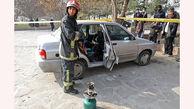 مرگ عجیب و تلخ جوان مشهدی پشت فرمان پراید پارک شده + عکس
