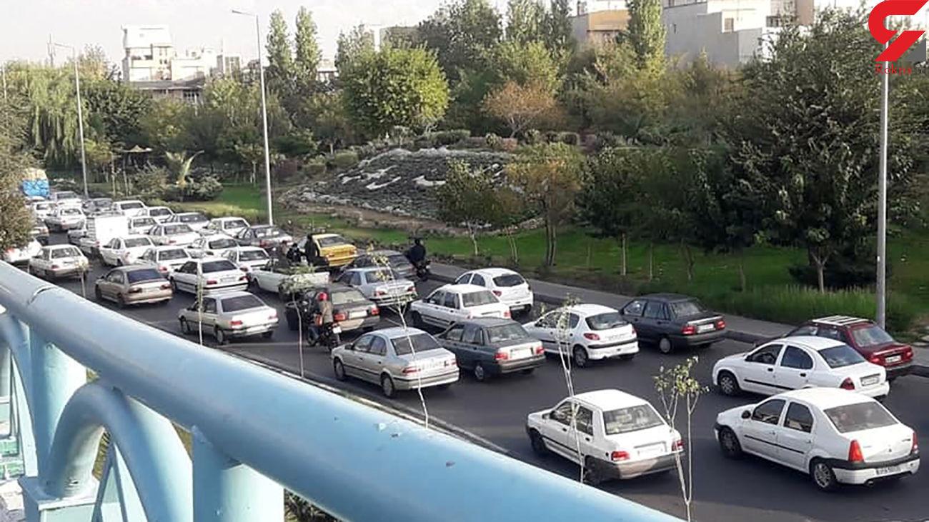 آخرین وضعیت جادهها / ترافیک سنگین در آزاد راه کرج - قزوین