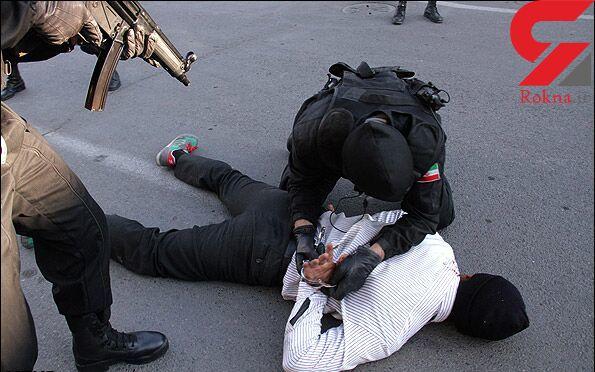 قاتل فراری قبل از رفتن به عراق در حمیدیه دستگیر شد