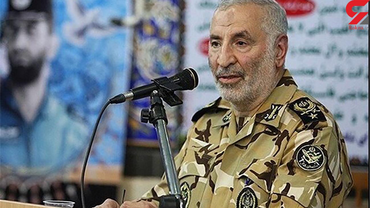 امیر آراسته از فرماندهان ارتش: منافقین بسیار ملعونتر و جانیتر از صدام هستند +فیلم