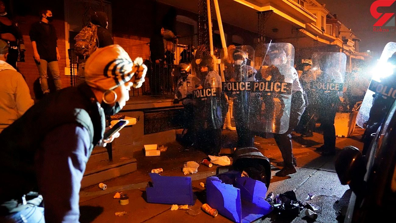 Philadelphia Protesters Face Off with Riot Cops over Police Shooting