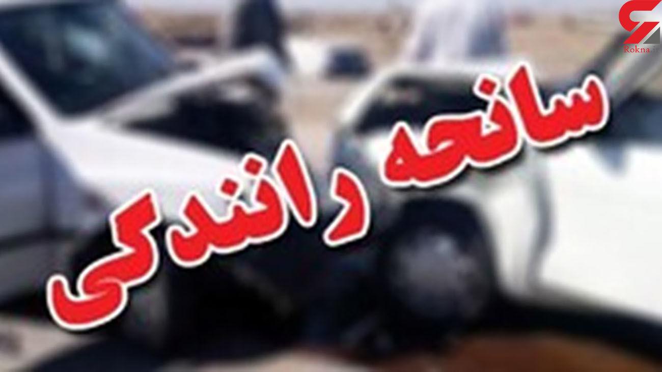 تصادفات مرگبار جاده ای در خراسان رضوی / یک کشته و 5 زخمی
