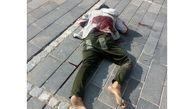عکس جسد سلاخی شده یک مرد وسط پیاده رو / در آبسرد رخ داد