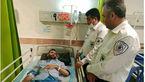 حمله وحشیانه به تکنسین اورژانس مازندران در صحنه یک تصادف + عکس تلخ