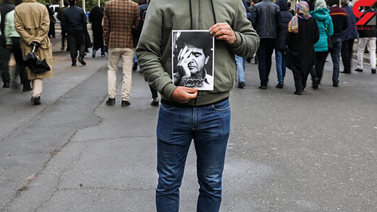 محل تدفین پیکر استاد محمدرضا شجریان تغییر کرد +عکس