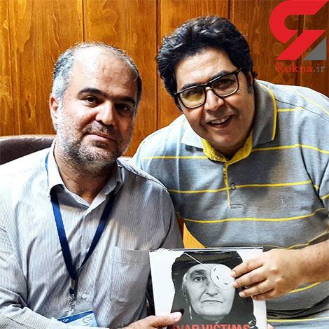 فرهاد اصلانی در موزه صلح