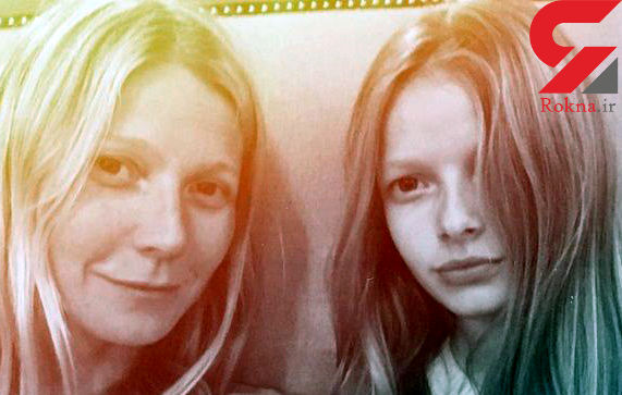چشم و موی من و دخترم