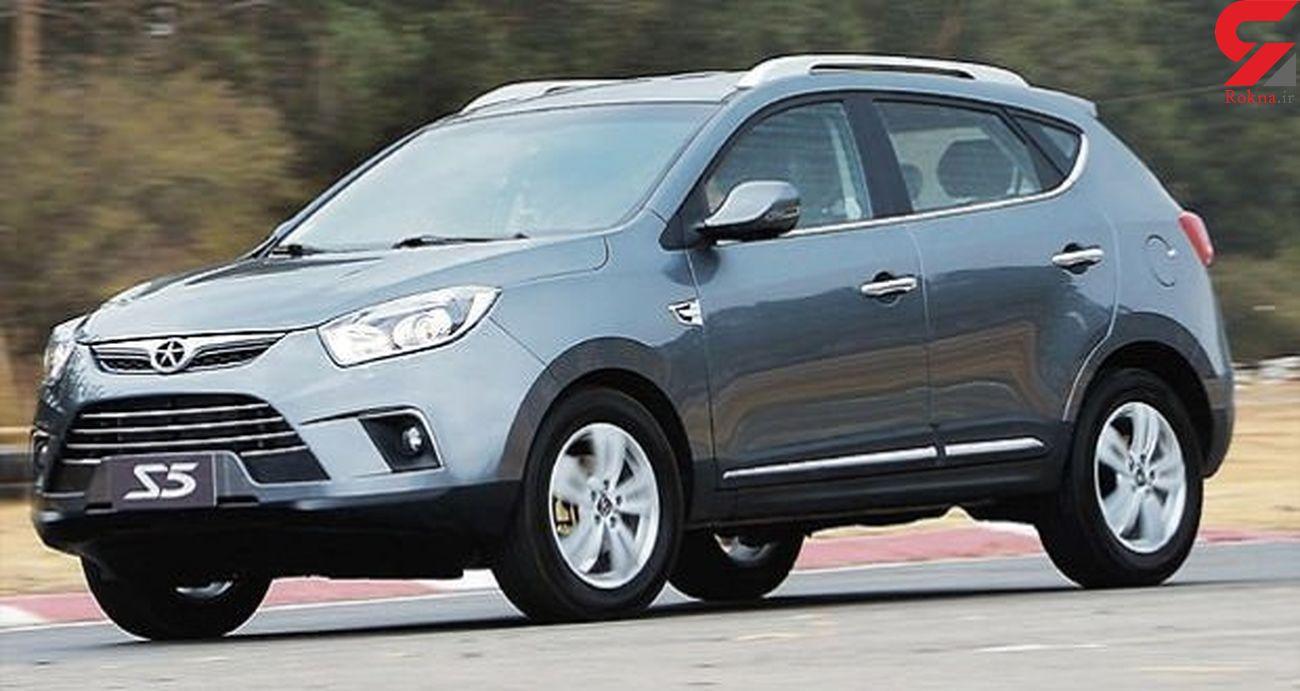 کاهش شدید قیمت چری تیگو ، جک اس 5 و دیگر خودروهای چینی در بازار