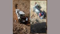عجیب بودن عکس یک تصادف در دره پیچ پیر یعقوب