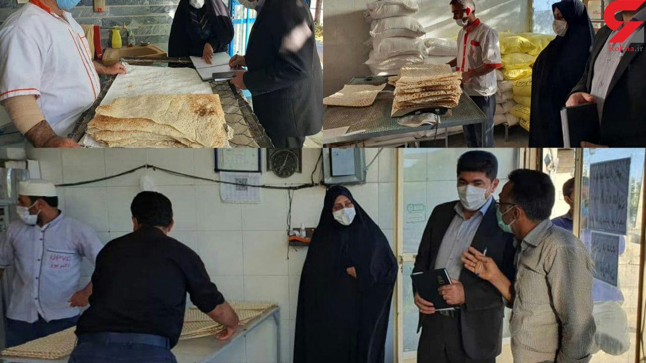 نظارت مستقیم بخشدار بخش مرکزی هشترود به فعالیت نانوایی های روستاهای این بخش