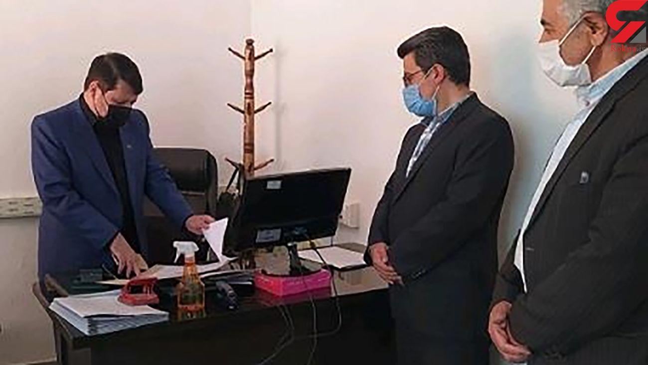 بازدید سرزده رئیس کل دادگستری آذربایجان شرقی از دادگستری شهرستان ورزقان