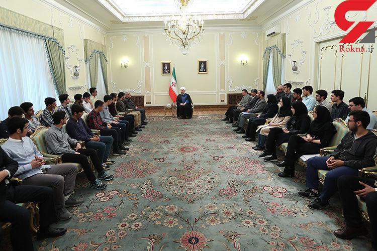 روحانی : رقابت سالم و عادلانه در همه زمینه ها موجب پیشرفت است