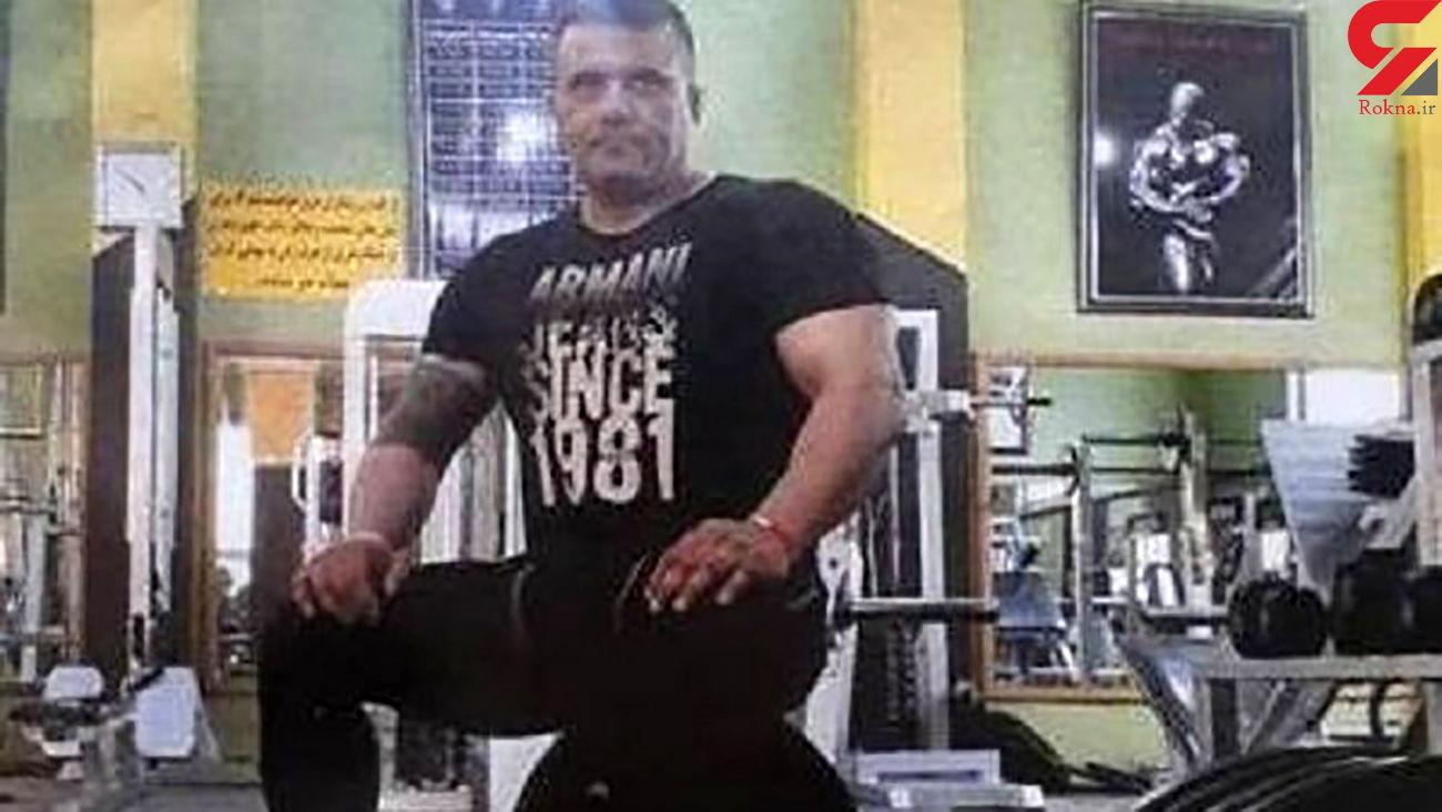قتل بابک پارسا قهرمان پاورلیفتینگ در رشت +عکس