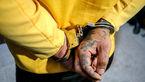 شرور خطرناک تهران در لباس زنانه دستگیر شد / او قمه همراه داشت