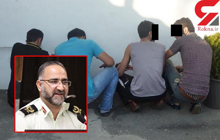 سارقان مسلح جواهرفروشی املش دستگیر شدند