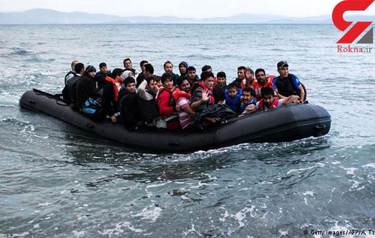 افزایش غرق شدگان قایق مهاجران به 42 نفر در آبهای یونان