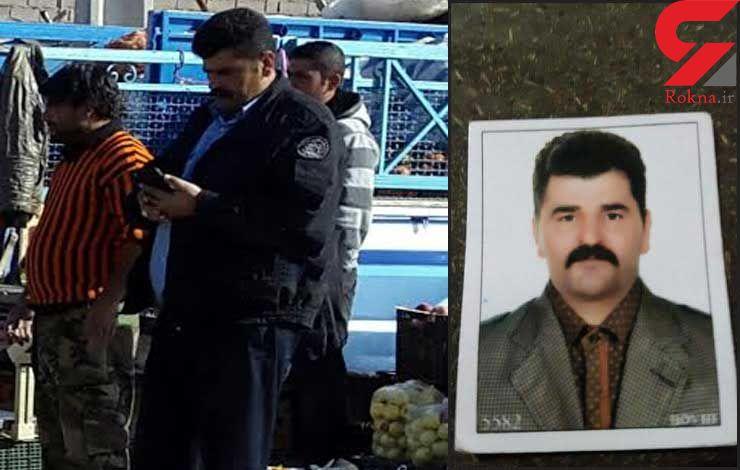 قتل خیابانی کارمند شهرداری گرگان