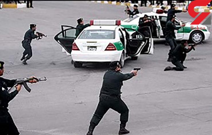 زورگیری اوباش خطرناک با قمه در پارک های محله تهران نو