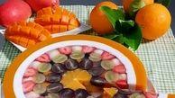 دسر با میوه های استوایی