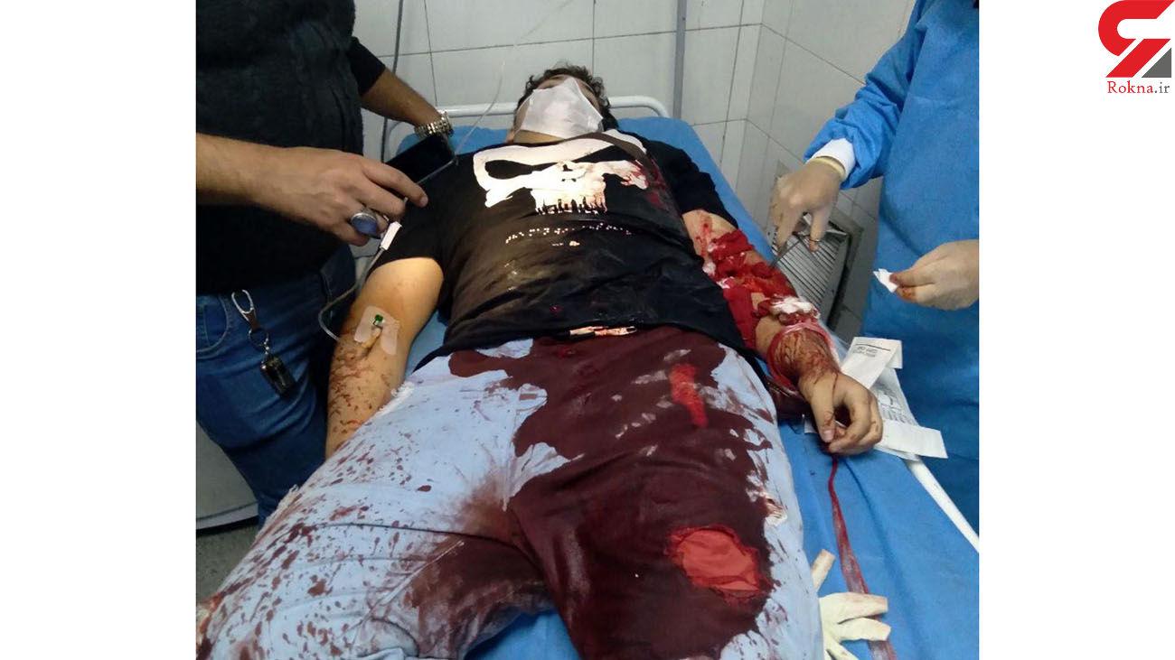عکس 16+ از پیکر غرق در خون جوان گلستانی / اوباش چه کردند؟ + جزییات