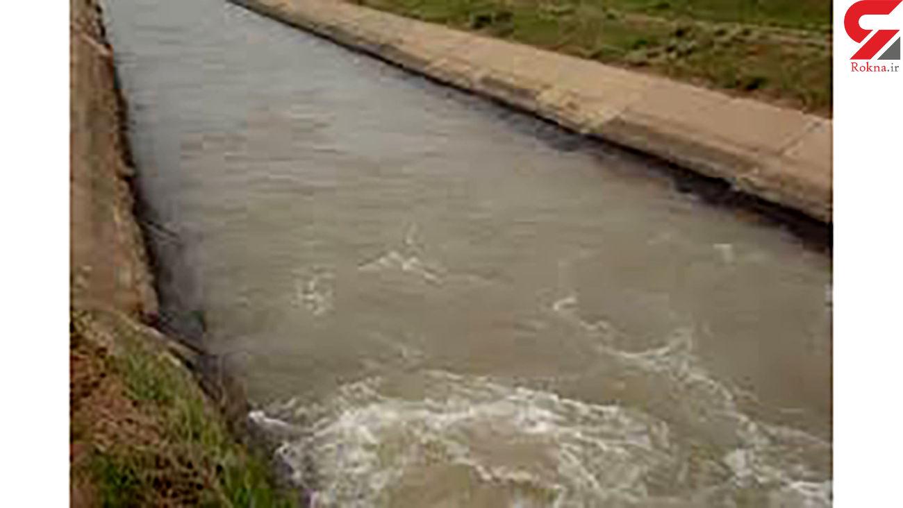 غرق شدگی مردی جوان در کانال آب سمیرم