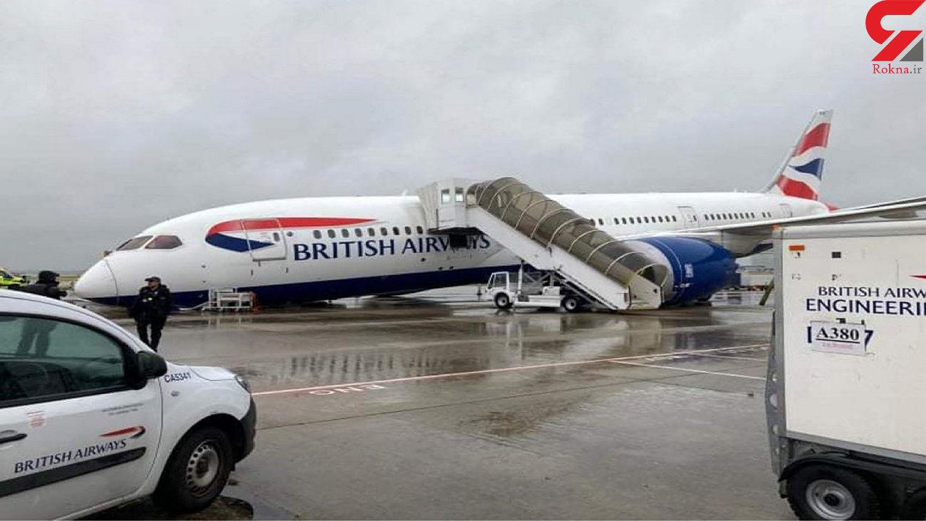 عکس / سقوط هواپیما در لندن