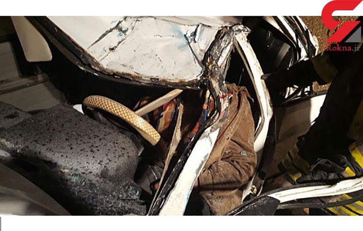 تصادف سحرگاهی ب ام و در نیایش 3 کشته برجای گذاشت