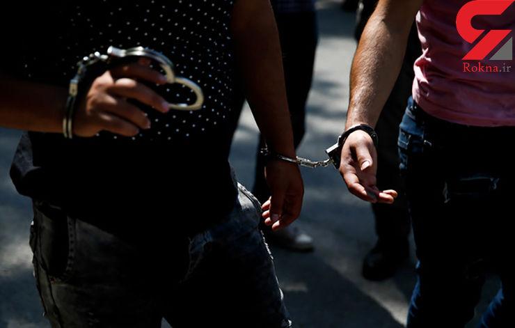 دستگیری سارقان حرفهای در جوی آب
