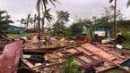 14 نفر قربانی طوفان فیجی شدند + فیلم