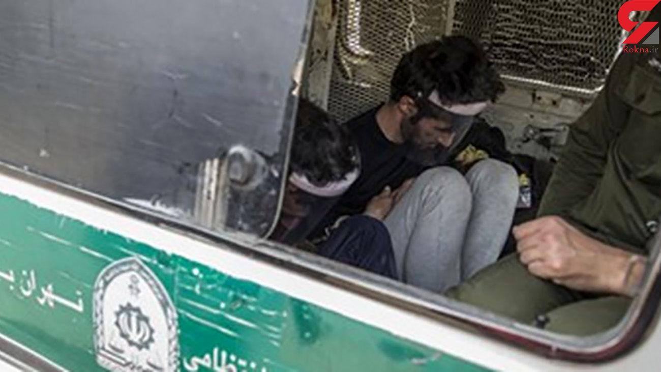 بازداشت ۳ قاچاقچی در شمال تهران