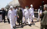 وزیر دفاع از مراحل پایانی ساخت ناوشکن دنا و شناور مینشکار صبا بازدید کرد