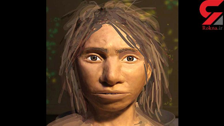 بازسازی اولین تصویر از قدیمی ترین انسان یافت شده+عکس