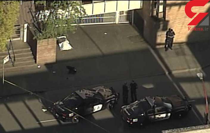 ضارب 2 مرد و یک زن با شلیک گلوله پلیس کشته شد