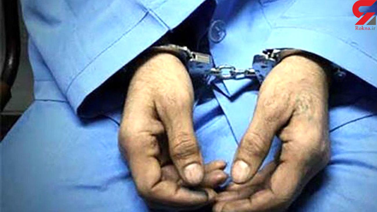 دستگیری عامل قدرتنمایی با قمه در منطقه رشتیان